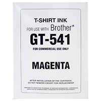 Expired (Aug 31) Replacement NaturaLink Magenta Ink Cartridges for Brother GT-541