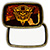 Rectangle Brass Belt Buckle with Sublimation Blank Insert Mini-Thumbnail