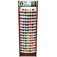 Best 100 Iris UltraBrite Polyester Floor Display Unit & 500 Snap Spools MAIN