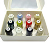 12 Spool Kit - Ultra Cotton Quilting Thread by Iris THUMBNAIL