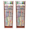 Best 200 Iris UltraBrite Polyester Floor Display Unit & 1000 Snap Spools