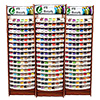 Best 300 Iris UltraBrite Polyester Floor Display Unit & 1500 Snap Spools