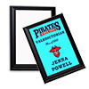 "Sublimation Plaque with Black Edge 8"" x 10"""