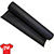 1.5 oz Adhesive Tearaway Backing - Black - 8 Inch by 25 Yard Roll