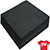 "1.5 oz Tearaway Backing - Black - 500 Ct 8"" x 8"""