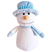 "Cubbies ""Mr. Frost"" Blue Top Hat Snowman"