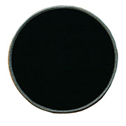 Custom Color Blank Patches - 3.5 Inch Circle
