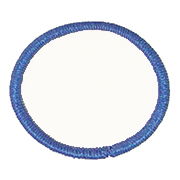 Standard Color Blank Patches - 3.5 Inch Circle