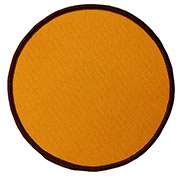 "Circle 3"" Custom Color Blank Patch"