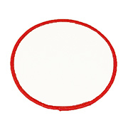 Standard Color Blank Patches - 3 Inch Circle
