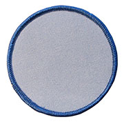 Custom Color Blank Patches - 4.5 Inch Circle