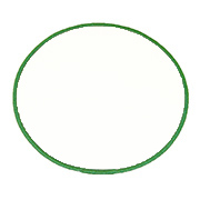 Standard Color Blank Patches - 4.5 Inch Circle