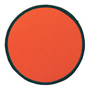 "Circle 5"" Custom Color Blank Patch"