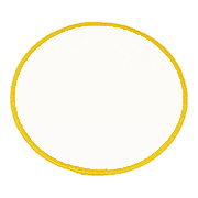 Standard Color Blank Patches - 5 Inch Circle