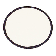 Standard Color Blank Patches - 6 Inch Circle