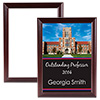 "Sublimation Plaque with Cherry Edge 8"" x 10"" THUMBNAIL"