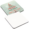 Square Hardboard Coaster - Sublimation Blank THUMBNAIL