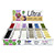 Top 12 Iris Ultra Cotton - White Cardboard Counter/Shelf  PDQ Display & 120 Snap Spools SWATCH