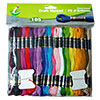Super Sheen Cotton Craft Thread Giant Pack by Iris - 105 Skeins
