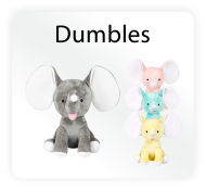 Baby Cubbies Dumble Elephants - Stuffed Animal Embroidery Blanks