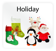 Baby Cubbies Holiday Collection - Stuffed Animal and Stocking Embroidery Blanks