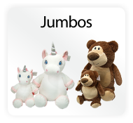 Jumbo Cubbies - XL Stuffed Animal Embroidery Blanks