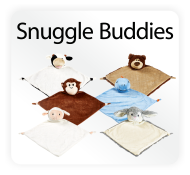 Baby Cubbies Snuggle Buddies - Animal Blankie Embroidery Blank