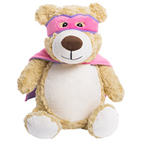 "Cubbies ""Hero"" Pink Bear MAIN"