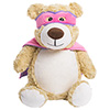 "Cubbies ""Hero"" Pink Bear THUMBNAIL"