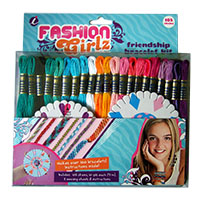 Fashion Girlz Craft Thread Friendship Bracelet & Craft Kit by Iris