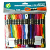 Super Sheen Cotton Embroidery Floss Giant Pack by Iris - 105 Skeins THUMBNAIL