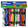 Super Sheen Cotton Embroidery Floss Super Giant Pack by Iris - 150 Skeins THUMBNAIL