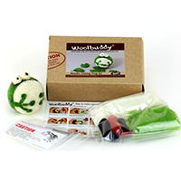 Woolbuddy Needle Felting Frog Kit MAIN