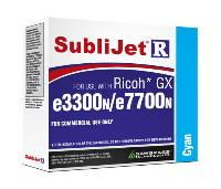Cyan Sublijet Sublimation Ink Cartridge Fits Ricoh GX e3300N GX e7700N