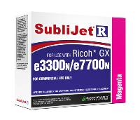 Magenta Sublijet Sublimation Ink Cartridge Fits Ricoh GX e3300N GX e7700N