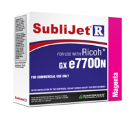 Magenta Sublijet Sublimation Extended Ink Cartridge Fits Ricoh GX e7700N MAIN