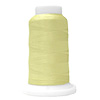 Beige UltraGlow Glow in the Dark Embroidery Thread 1100 Yard Cone