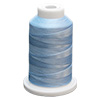 Blue UltraGlow Glow in the Dark Polyester Embroidery Thread 1100 Yard Cone