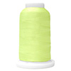 Chartreuse UltraGlow Glow in the Dark Polyester Embroidery Thread 1100 Yard Cone