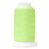 Green UltraGlow Glow in the Dark Polyester Embroidery Thread 1100 Yard Cone