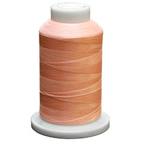 Peach UltraGlow Glow in the Dark Polyester Embroidery Thread 1100 Yard Cone MAIN