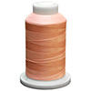 Peach UltraGlow Glow in the Dark Polyester Embroidery Thread 1100 Yard Cone THUMBNAIL