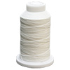 White UltraGlow Glow in the Dark Polyester Embroidery Thread 1100 Yard Cone