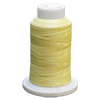 Yellow UltraGlow Glow in the Dark Polyester Embroidery Thread 1100 Yard Cone