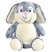 "Cubbies ""Clovis Brampton III"" Grey Bunny MAIN"