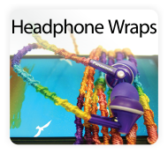 Pretty Twisted Headphone Wrap DIY Craft Kits