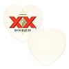 Heart Sandstone Coaster - Sublimation Blank THUMBNAIL