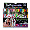 Holiday Embroidery Floss Friendship Bracelet & Craft Kit by Iris THUMBNAIL