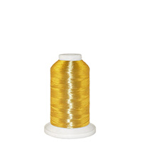 Gold Metallic # 14N Metallic Embroidery Thread 875 Yard Cone MAIN