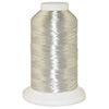 Silver Metallic # 14O Metallic Embroidery Thread 5500 Yard Cone THUMBNAIL